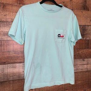 Vineyard Vines mint green Texas t-shirt, size XS